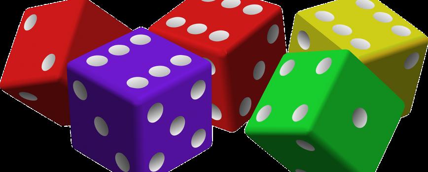 5 dés - jeux de hasard