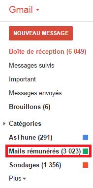 Mails remunere