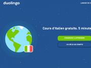 Application duolingo pour apprendre l italien