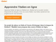 Apprendre l italien avec babbel